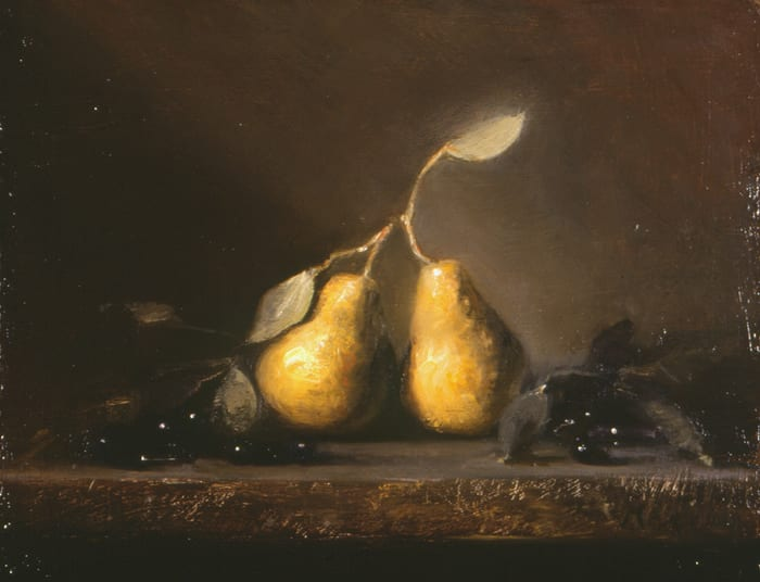 """Two Pears"" by M Kathryn Massey OPA"