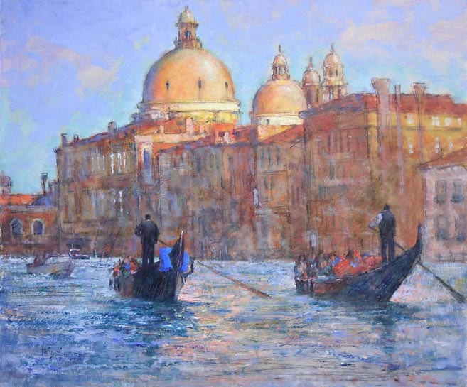 """Gondoliers"" by Doug Higgins OPAM"