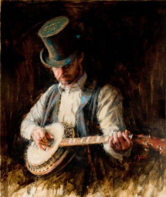 """""""Music Man"""" by Wanda Choate OPA"""