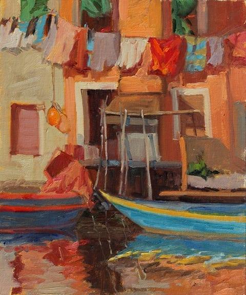 """Saturday Wash"" by Jane Barton"