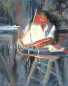 """The Boatmaker"" by Jane Barton"