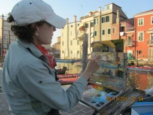 Jane Barton in Italy