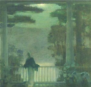 "Eduard Steichen – ""Balcony, Nocturne, Lake George"" (Private Collection)"