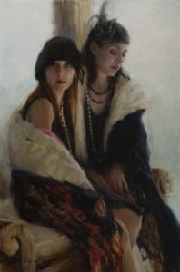 """Katie and Jenni"" by Michelle Dunaway"