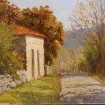 """""""The Italian Store"""" by Kathleen Dunphy OPA 12x12"""