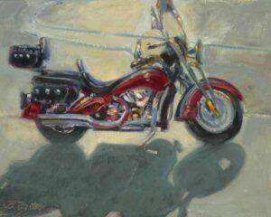 """Horsepower"" by Jane Barton, 8x10"