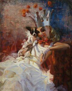 """""""Princess Zazu and Pip"""" by Nancy Boren"""