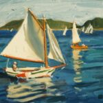 """Sailing"" by Nancy Boren"