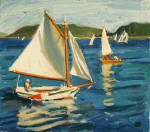 """""""Sailing"""" by Nancy Boren"""