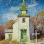 """San Patricio Church"" by Nancy Boren"