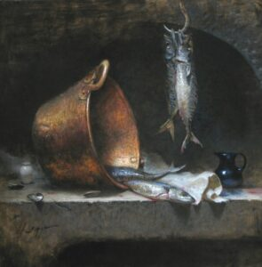 """The Provision"" by Jeff Legg OPAM - 30x30"