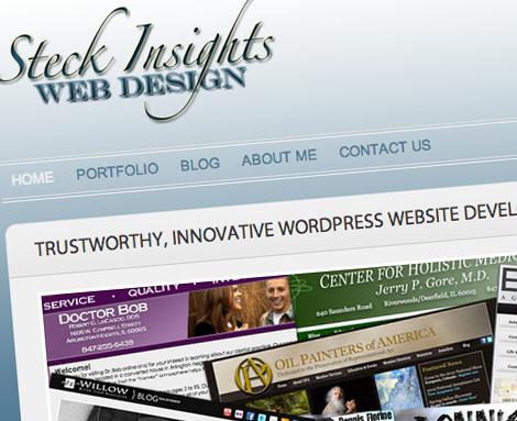 SteckInsights.com Chicago Colorado Springs WordPress Web Design