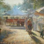 """Early Birds, Winter Park Farmers Market"" by Stacy Barter"
