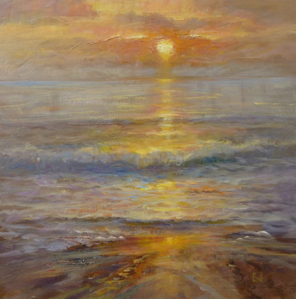"""Perihelion"" by Rick Delanty, 24x24"