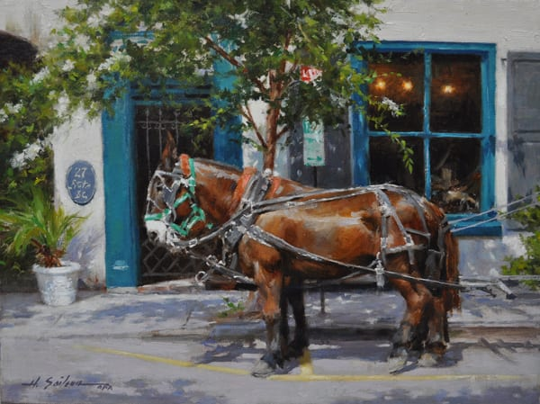 """A Little Rest"" by Hodges Soileau OPA, 12 x 16"