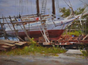 """""""Info for Repairs (The Issac Hayes)"""" by Hodges Soileau OPA, 12x16"""