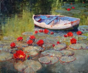 """""""The Dinghy"""" by Alan Walton OPAM"""