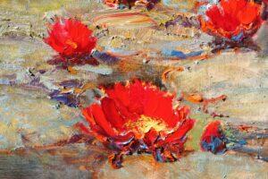 """Three Flowers"" by Alan WoltonOPAM"