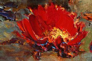 Painting Florals Alan Wolton OPAM