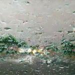 """Driving Through A Downpour"" by Diane Massey Dunbar OPA - 12x16"