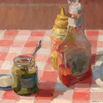 """Ketchup, Mustard and Relish"" by Diane Massey Dunbar OPA - 11x14"