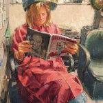 """Nancy"" by Diane Massey Dunbar OPA - 27x23"