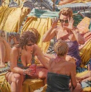 """""""Ten"""" by Diane Massey Dunbar OPA - 20x20"""
