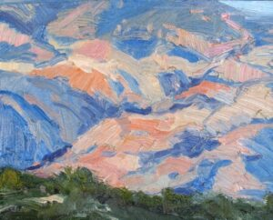 Jane Barton - Santa Catalina Sunset