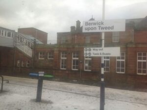 Colleen-Maxey- From the Train berwick Upon Tweed Near Border Area between England and Scotland