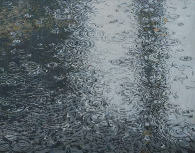 Raindrops – 18″x 24″ – Oil
