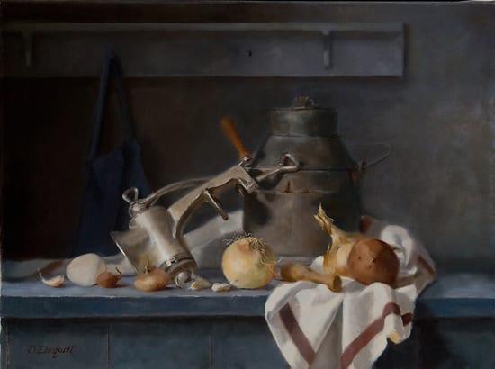 """""""Roots"""" by Deborah Elmquist 18x24"""