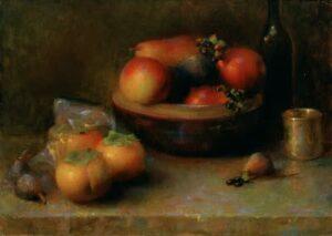 Juliette Aristides – Ember – 16″x 22″ – Oil