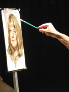 Portrait Demo, by Mian Situ, June 2013
