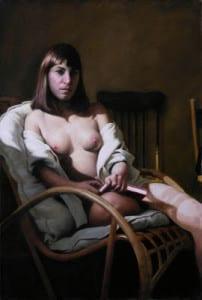 Michel John Angel – Circe – 43.31″x 31.5″ – Oil