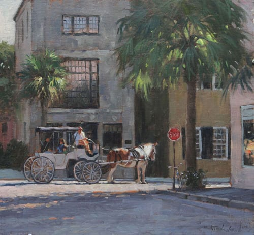 """Charleston Stories"" by Bill Farnsworth OPA"
