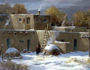 Blog - JF - Taos Winter - 20x20