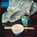 David Hardy – The Ginger Jar – 12″x 12″ – Oil