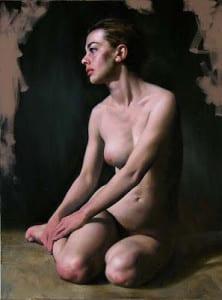 Michael John Angel – Melissa – 31.5″x 23.68″ – Oil