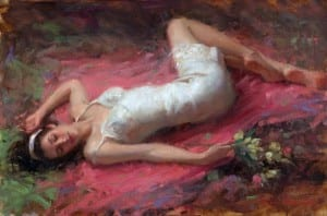 """""""Repose"""" 16″x 24″ – Oil (Completed Painting)"""