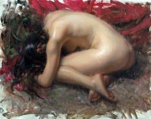 """""""Lotus"""" – 16″x 20″ – Oil"""