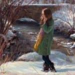 """The Winter's Tale"" – 24″x 30″ – Oil"