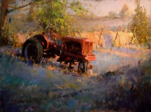 Blog - JC - Out to Pasture 30x40
