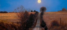 Moonrise Road by John Hulsey