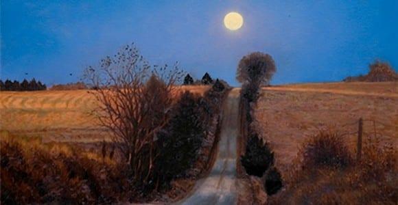 Moonrise Road by John Hulsey