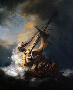 Rembrandt, Storm on the Sea of Galilee
