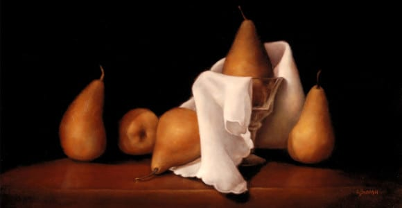 """""""A Pear Dressed For Dessert"""" by Susan Budash"""