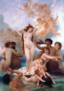 """The Birth of Venus"" by William-Adolphe Bouguereau"