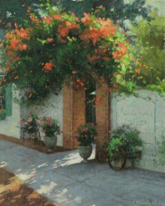"Bill Farnsworth ""Invitation"" Oil on Canvas 21 x 17"
