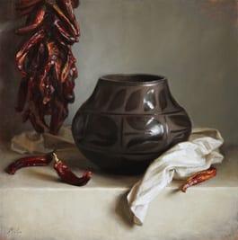 Pueblo Pot Painting