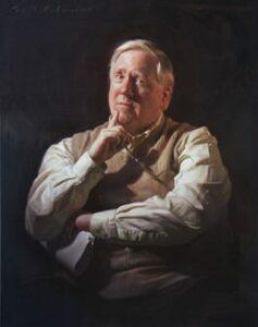 Peter Devine painting